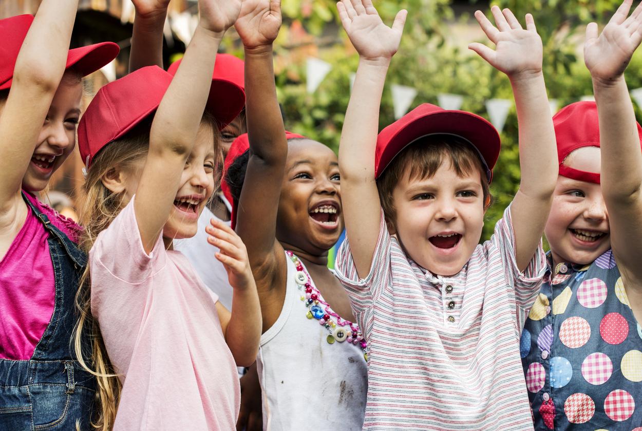 Team Building Games Exercise For Kids, Children